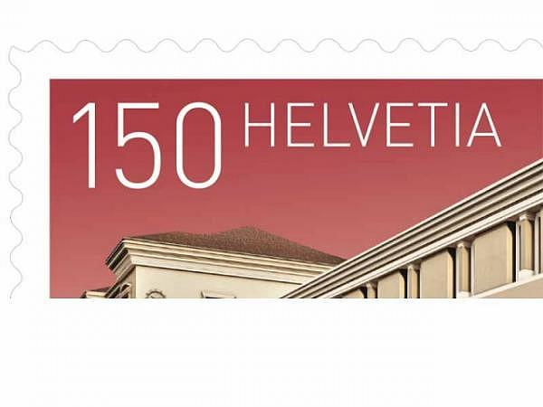 Briefmarken Schweiz selbstklebend Frankatur 1.50 CHF