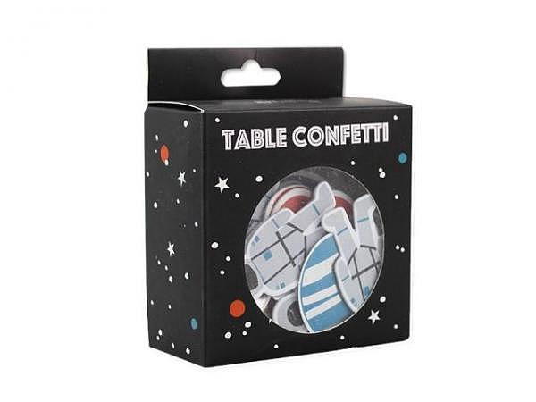 Konfetti Ava&Yves Space, hochwertige Papierkonfetti
