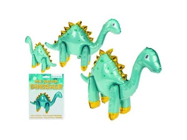 Ballon Folie Dinosaurier 70x50cm, kann mit Helium befüllt werden