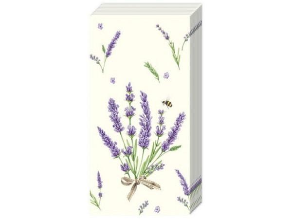 Taschentuch Ihr Bouquet of Lavender