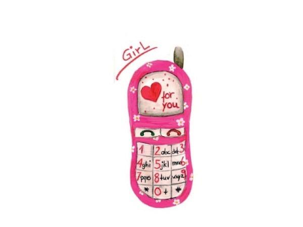 Taschentuch Braun Handy eine Seite für Boys, eine Girls