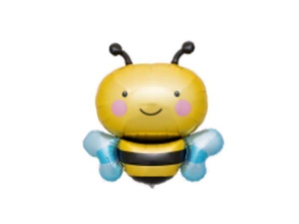 Ballone Folie ungefüllt Biene, ca 90cm gross