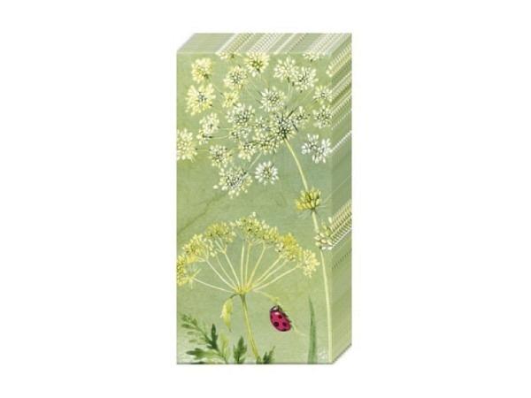 Taschentuch Ihr Blooming Garden, 10Stk. Bedruckt