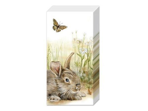 Taschentuch Ihr Bunny and Clyde, 10Stk 21x21cm