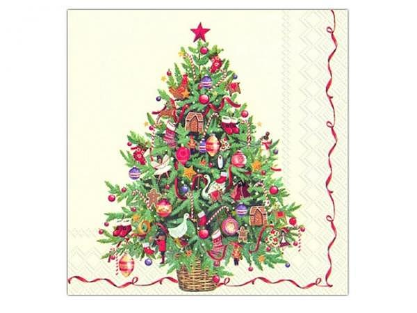 Servietten Ihr Cocktail Christmas Tree 20Stk.