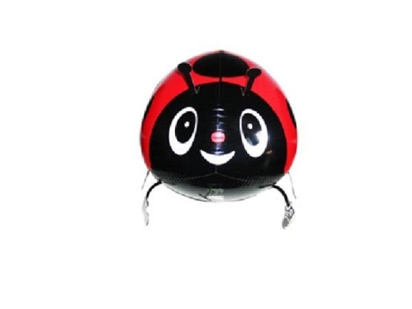 Ballone Folie ungefüllt Air-Walkers Marienkäfer