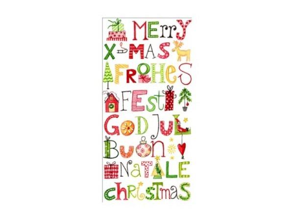 Taschentuch Atelier Snowfriends 10Stk. bedruckt