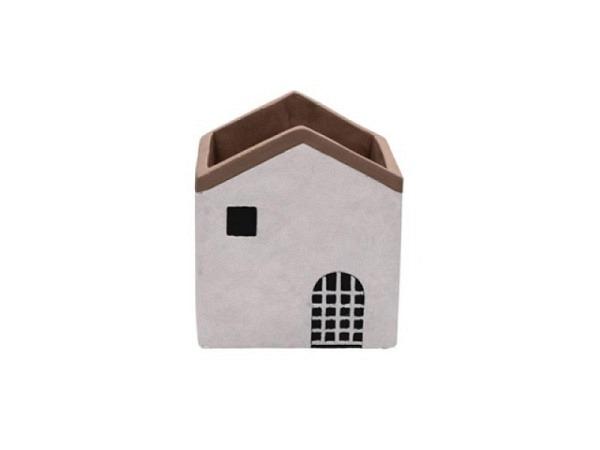 Servietten Ihr Cocktail Felt Star rot/beige 20Stk. 25x25cm