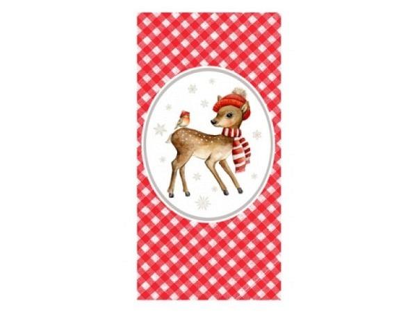 Taschentuch Atelier Little Bambi 10Stk. bedruckt
