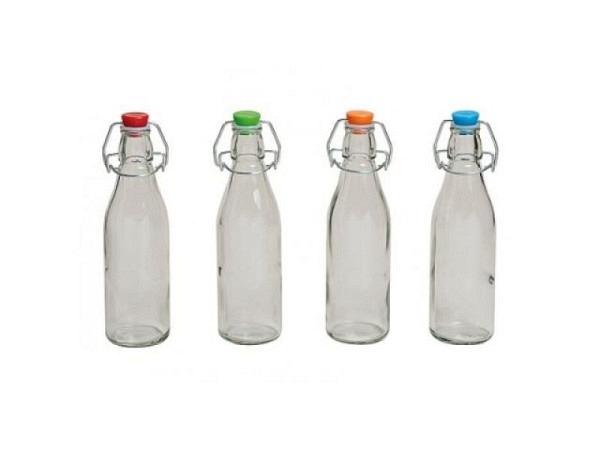 Flasche Bügelflasche aus Glas 250ml