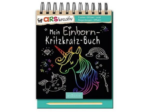 Buch Kritzkratz Mein Einhorn-Kritzkratz-Buch
