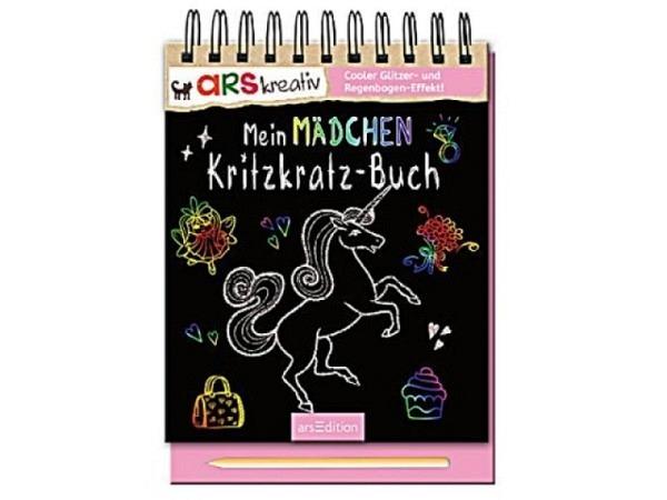 Buch Kritzkratz Mein Mädchen-Kritzkratz-Buch