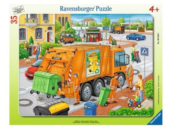 Holzbilderbuch Atelier Fischer 15,5x10,5cm Zirkus
