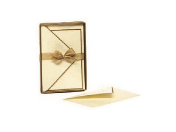 Briefpapier Kartos Rosengarten 8,5x13,5cm Karten 10 Karten