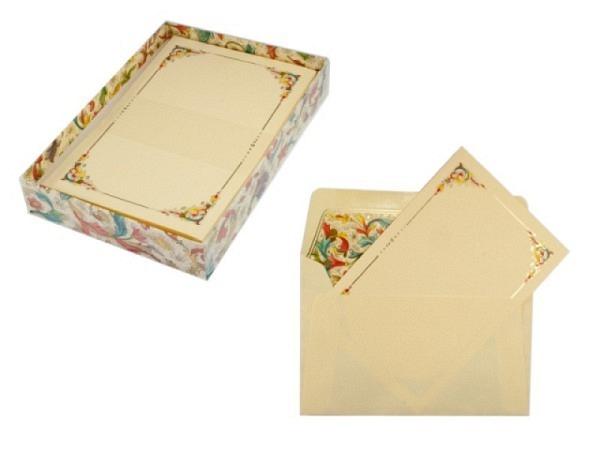 Briefpapier Kartos Florentina Karten/Kuvert 9x14cm