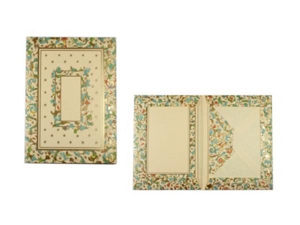 Briefpapier Kartos Portfolio Medicea 11,2x16,8cm
