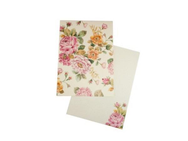Briefpapier Kartos Medicea 6,8x10,6cm 10 Karten