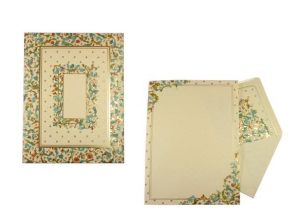 Briefpapier Kartos Medicea Florentinermuster