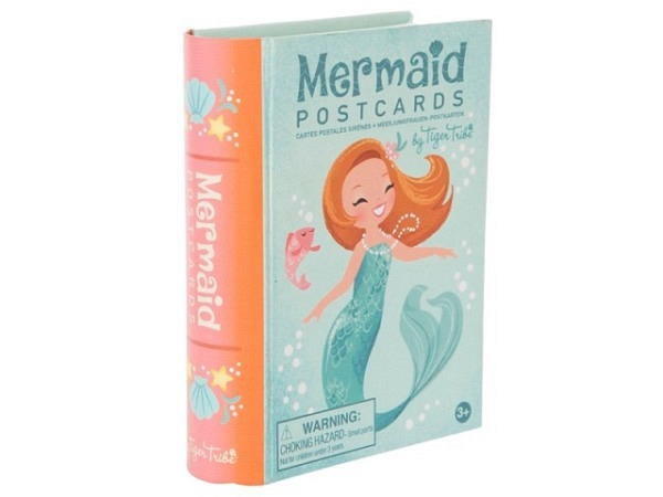 Briefpapier Bertoy Tiger Tribe Mermaid Postcards