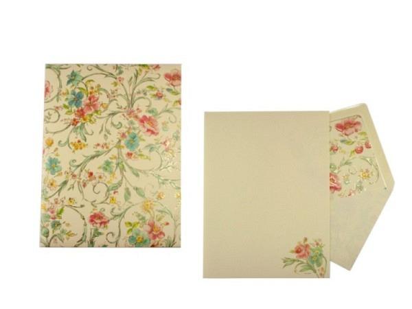 Briefpapier Kartos Portfolio Peacock 11,2x16,8cm