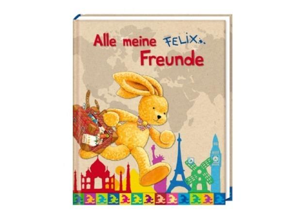 Freundschaftsbuch Felix Alle meine Freunde 16x19,5cm