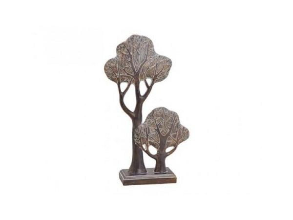 Dekogegenstand Bäume Afrika aus Poly 16x44x9cm
