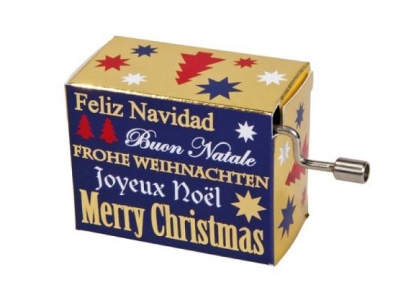 Musikdose Merry Christmas