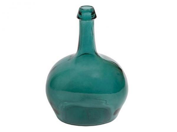Krug Victoria petrol, 19x14x26cm, aus Glas