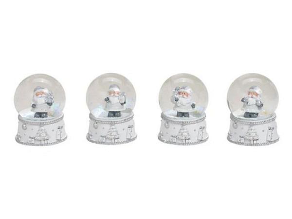 Schneekugel Nikolaus mit Weihnachtspost