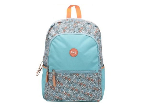 Rucksack Margelisch Backpack Bandir Canvas grey, 27x12x35cm