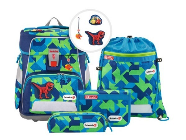 Schulthek Step by Step Touch 2 FLASH Unicorn 4-tlg. Set, Schulthek m..