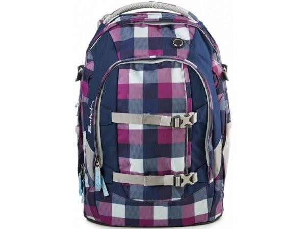 Rucksack Satch Pack Berry Carry violett-lila Karo