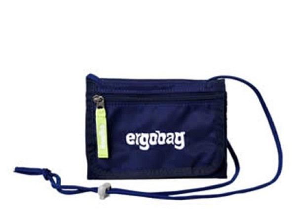 Portemonnaie Ergobag SchlauBär ultramarinblau Brustbeutel
