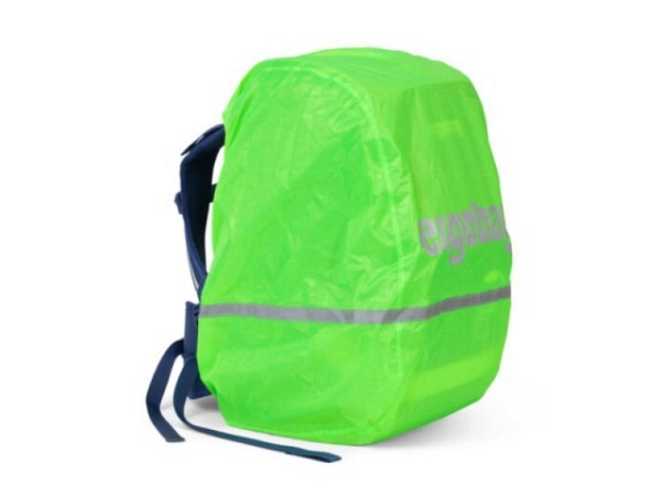 Regenschutz Ergobag Regencape Grün Glow für Ergobag Pack und Cubo