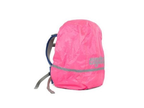 Regenschutz Ergobag Regencape Pink Glow für Ergobag Pack und Cubo