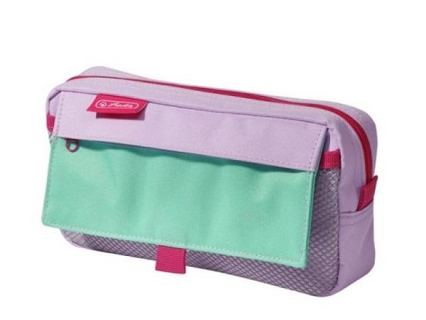 Schlamperbox Spirit My Bag Stripes pink-rot 23x10cm