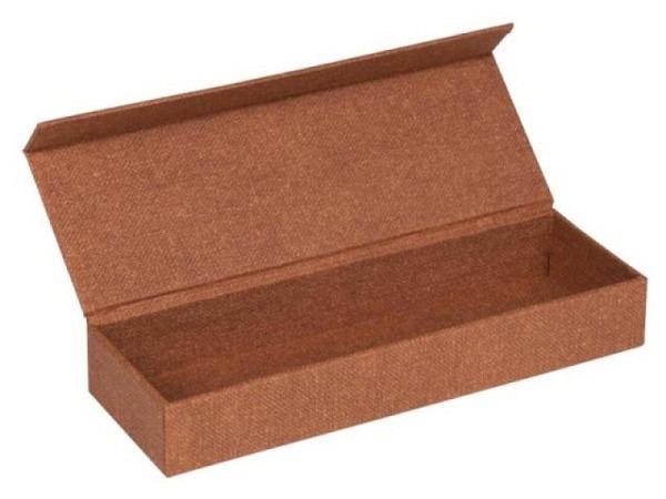 Stiftdose Bigso Box Papierbezug Astrid altrosa