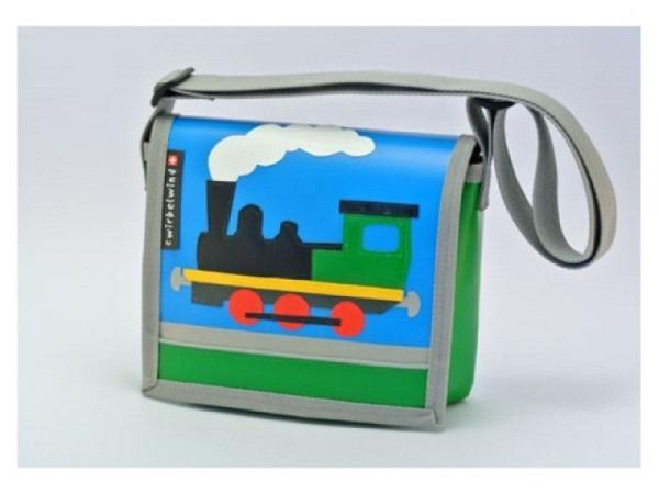Kindergartentasche Cwirbelwind Loki aus Schweizer Handarbeit