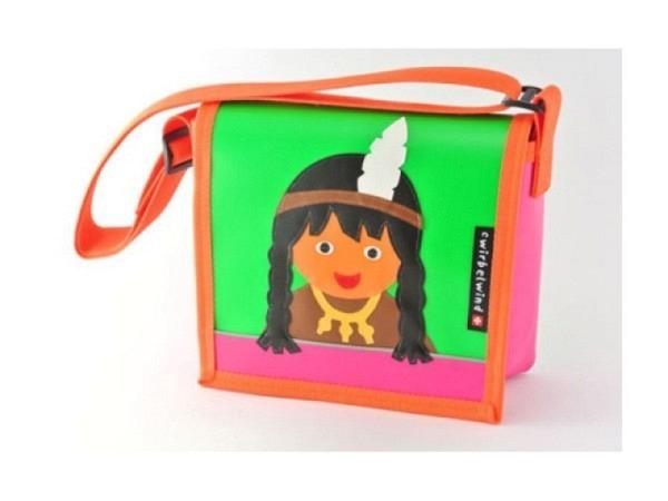 Kindergartentasche Cwirbelwind Indianermädchen