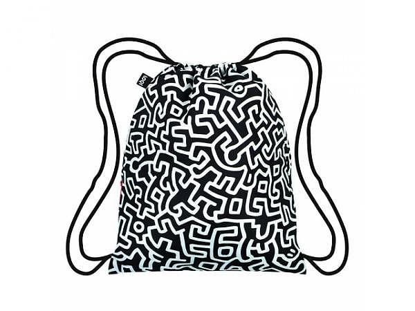 Sportbeutel Loqi Keith Haring Untitled 34x43,5cm