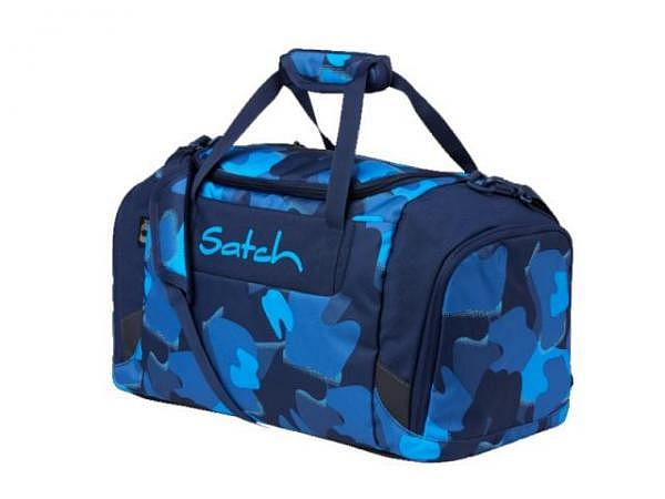 Sportbeutel Satch Blue Triangle, 35x10x45cm
