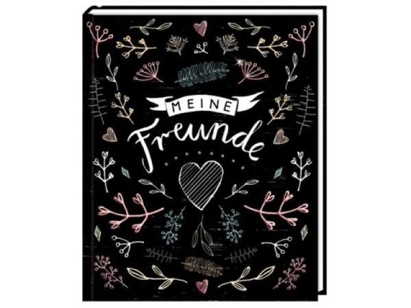 Freundschaftsbuch Handlettering - Meine Freunde