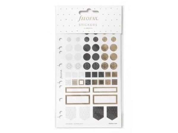Aufkleber Glanzbilder Weihnachtsmann, stehend