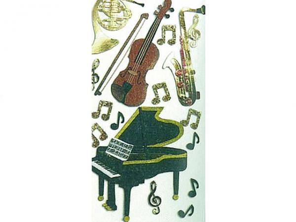 Aufkleber Artoz Artwork Klassische Instrumente Nr.2