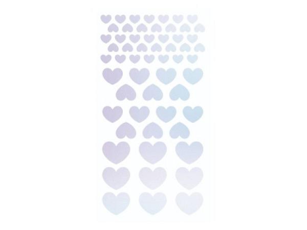 Aufkleber Glanzbilder Weihnachtsmann, mit Mond