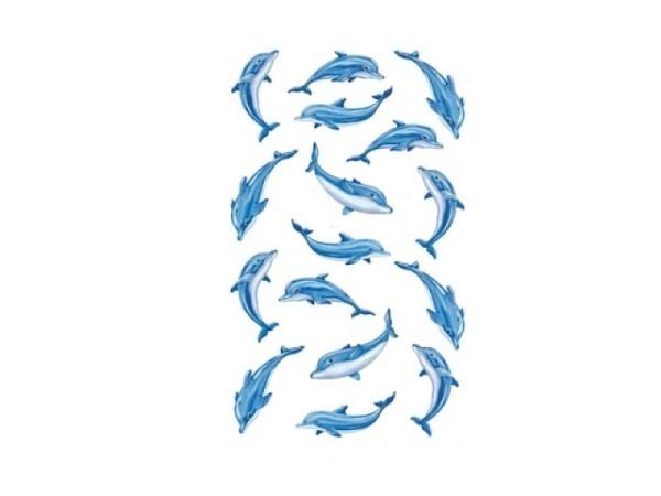 Aufkleber bsb Deco Sticker Delfin, Blisterpackung