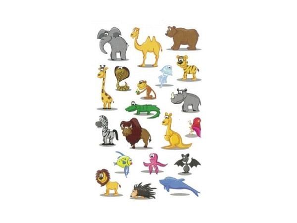 Aufkleber bsb Deco Sticker Tiere, Blisterpackung