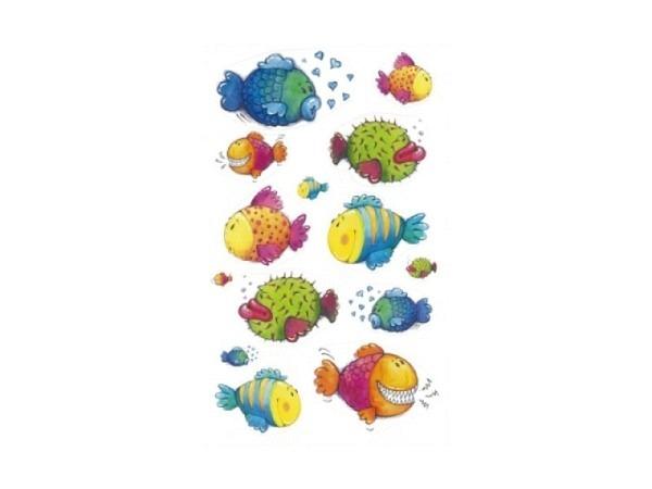 Aufkleber bsb Deco Sticker lustige Fische