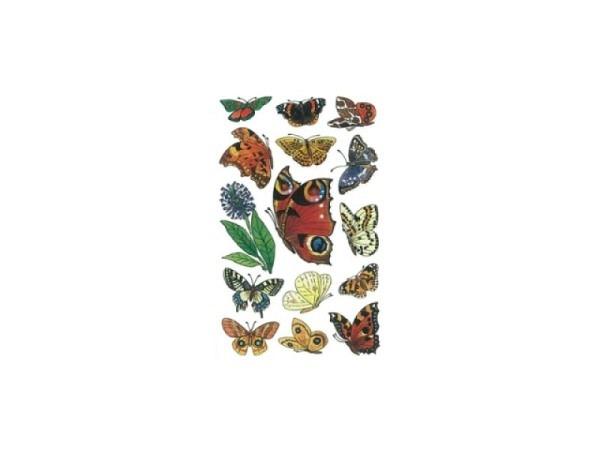 Aufkleber bsb Deco Sticker Schmetterlinge, Blisterpackung