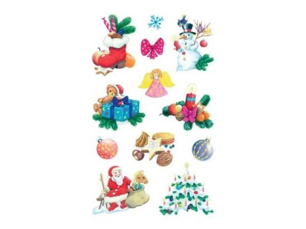 Aufkleber Zweckform Christmas diverse Weihnachtsdekorationen